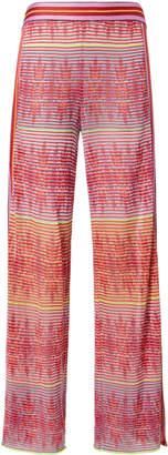 Cecilia Prado Split Hem Printed Pants