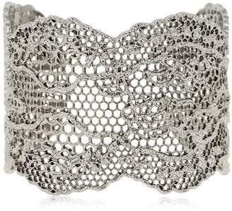Aurelie Bidermann Dentelle Manchette Bracelet