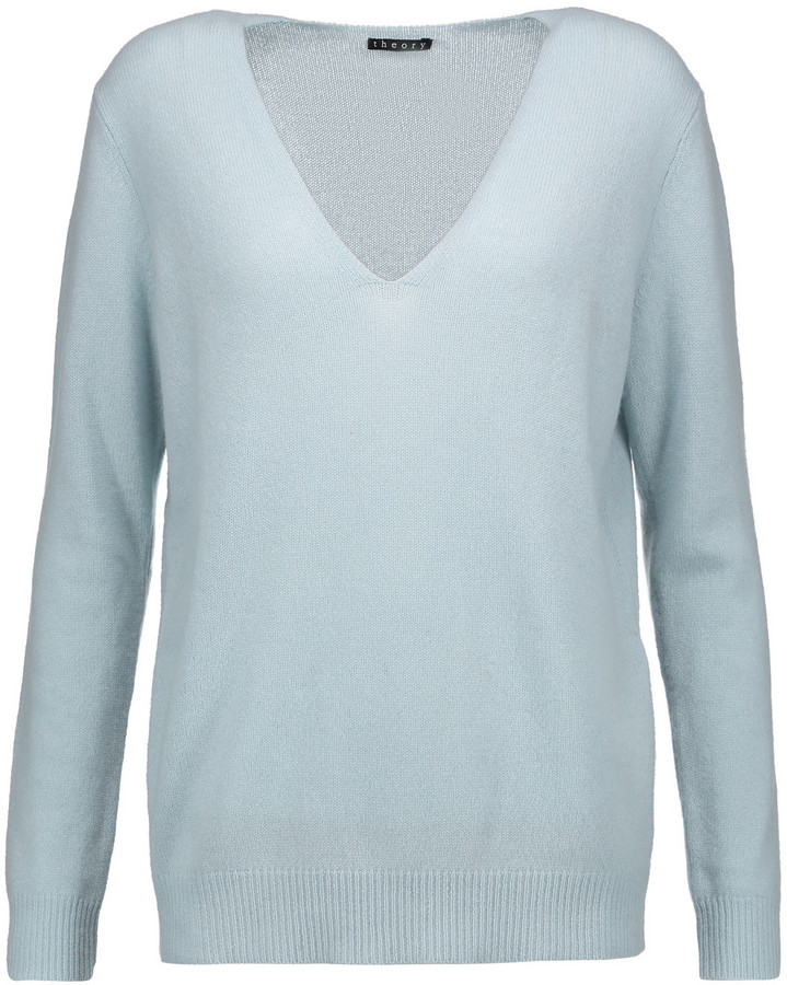 Theory Adrianna cashmere sweater
