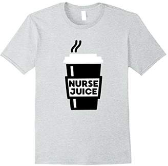 Nurse Juice Funny Coffee Graphic T-Shirt for Medical Student