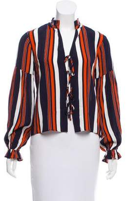 Tularosa Long Sleeve Striped Top