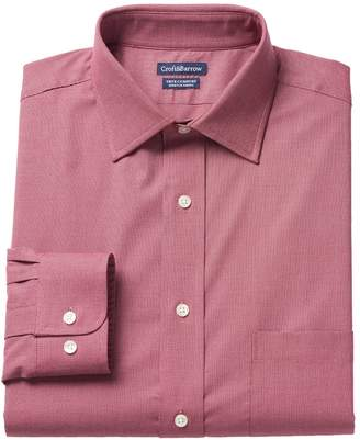 Croft & Barrow Men's True Comfort Classic-Fit Oxford Stretch Dress Shirt
