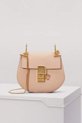 Chloé Mini Drew grain lamskin Shoulder Bag