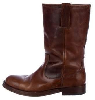 Ralph Lauren Black Label Tall Leather Boots