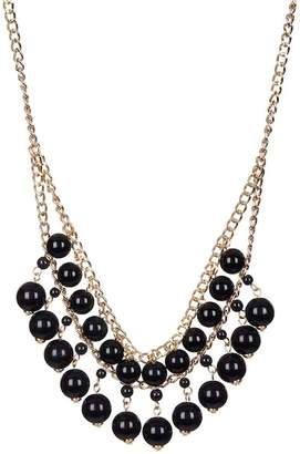 14th & Union Double Row Beaded Chain Necklace
