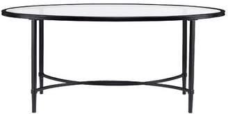Charlton Home Sherrodsville Metal/Glass Coffee Table