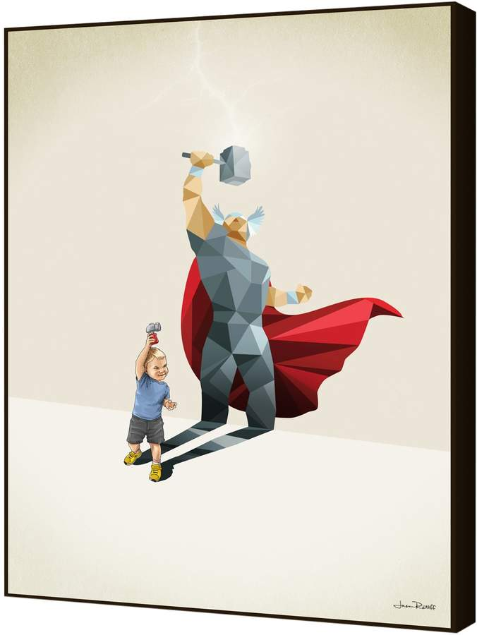 Curioos The Power of the Hammer by Jason Ratliff (Artblock)