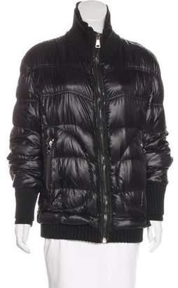 Dolce & Gabbana Zip-Up Puffer Jacket