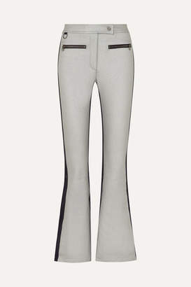 Erin Snow - Phia Paneled Flared Ski Pants - Silver