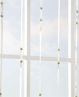 "Croscill Chrysalis 40"" x 84"" Beaded Strand Window Panel"