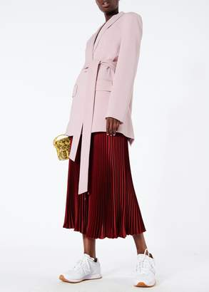 Tibi Oversized Tuxedo Blazer with Removable Belt