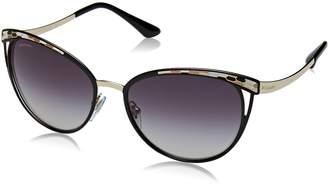 Bvlgari Women's Gradient BV6083-20188G-56 Cat Eye Sunglasses