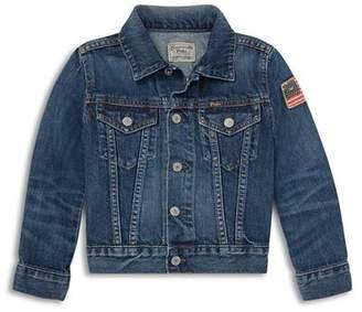 Ralph Lauren Boys' Cotton Denim Jacket - Little Kid