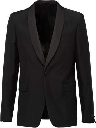 Prada jacquard tuxedo jacket