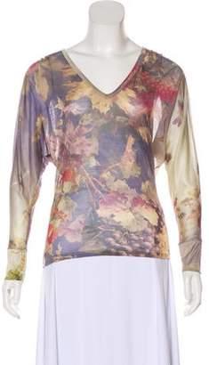 Jean Paul Gaultier Silk Jersey Top w/ Tags