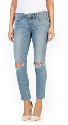 Paige Women's Miki Ankle Straight Leg Jeans