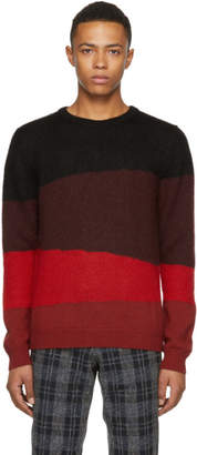 Paul Smith Multicolor Colorblocked Knit Crewneck Sweater
