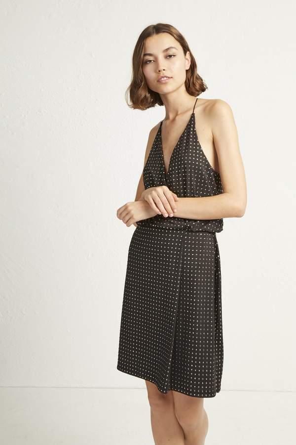 Enid Jersey Strappy Studded Dress
