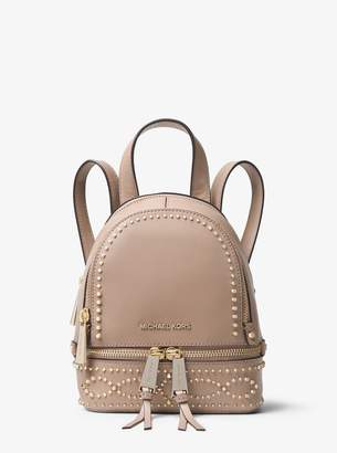 06df6f1a1a90 at Michael Kors · MICHAEL Michael Kors Rhea Mini Studded Leather Backpack