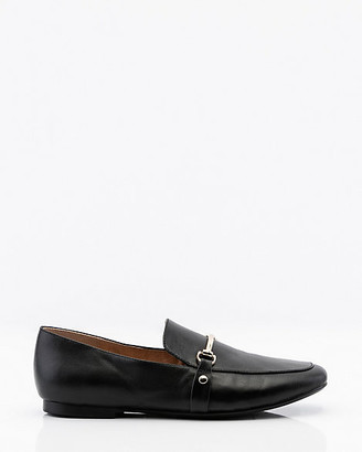Le Château Leather Square Toe Loafer