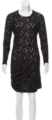 A.L.C. Ruched Lace Dress