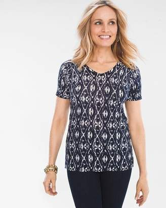 Chico's Chicos Ikat Pullover