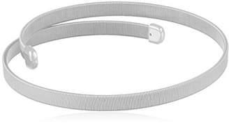 ABS by Allen Schwartz Open Metal Choker Necklace