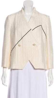 Chanel Textured Graphic Jacket