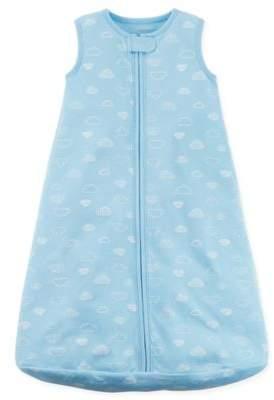 Sleeveless Cloud Print Sleep Bag in Blue