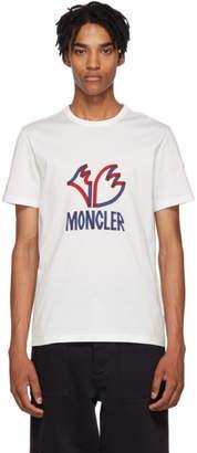 Moncler Genius 2 1952 White Logo T-Shirt