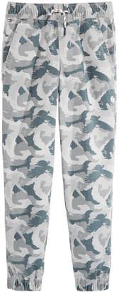 Tommy Hilfiger Toddler Boys Eagle Camo-Print Cotton Jogger Pants