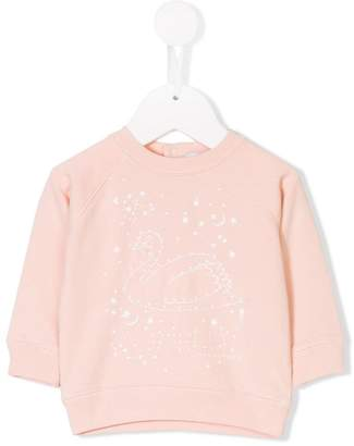 Stella McCartney swan print sweater