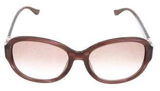 Salvatore Ferragamo Embellished Gradient Sunglasses
