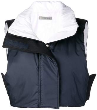 Sportmax padded cropped gilet
