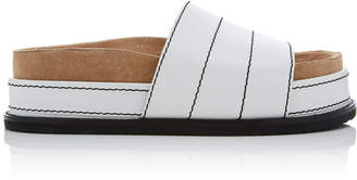 Proenza Schouler Leather Platform Slides