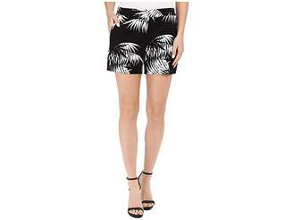 Vince Camuto Palm Silhouette Shorts Women's Shorts
