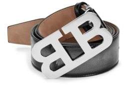 Bally Mirror B Leather Belt