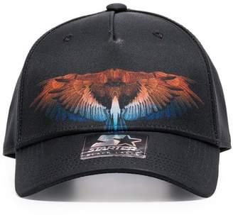 Marcelo Burlon County of Milan black Starter Wings baseball cap