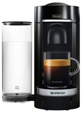 Nespresso by Delonghi Vertuo Plus Deluxe Coffee and Espresso Single-Serve Machi