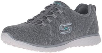 Skechers Sport Women's Microburst on the Edge Fashion Sneaker $34.99 thestylecure.com