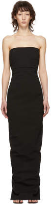 Rick Owens Black Bustier Gown