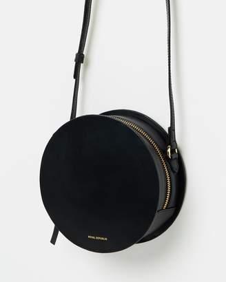 Galax Round Evening Bag