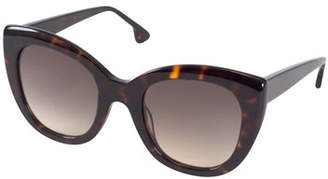 Alice + Olivia Mercer Cat-Eye Sunglasses