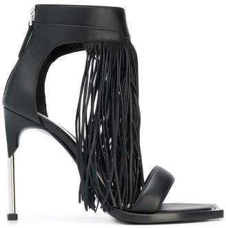 Alexander McQueen fringed sandals