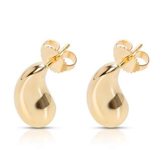 Tiffany & Co. Elsa Peretti yellow gold earrings