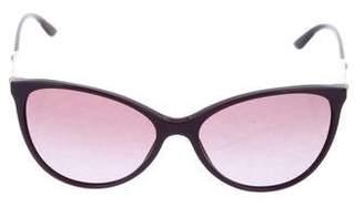 Versace Cat-Eye Tinted Sunglasses