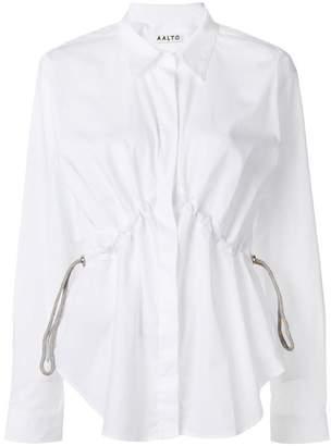 Aalto gathered waist shirt
