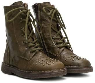 Pépé tall lace-up boots