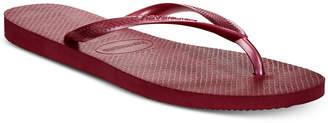 Havaianas Women's Slim Metallic Flip Flops Women's Shoes