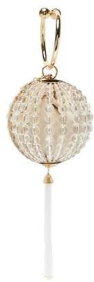 Rosantica By Michela Panero - Ginsberg Beaded Tassel Drop Clutch Bag - Womens - White